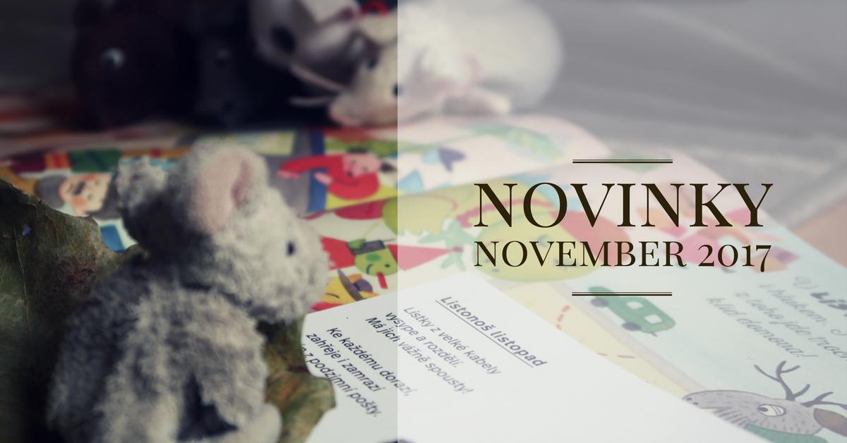 Novembrové novinky 2017