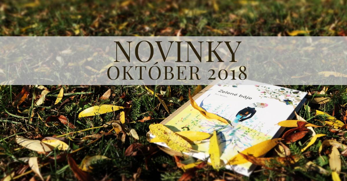 Októbrové novinky 2018