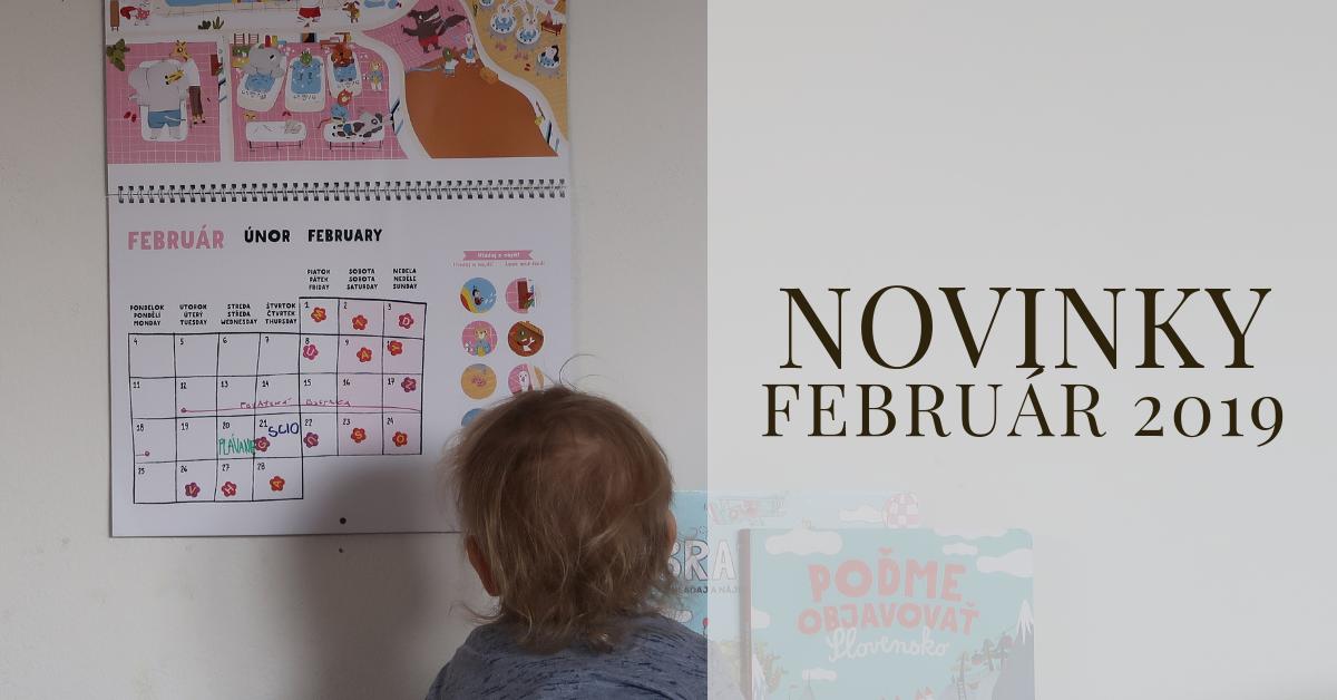 Februárové novinky 2019