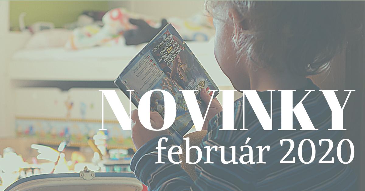 Februárové novinky